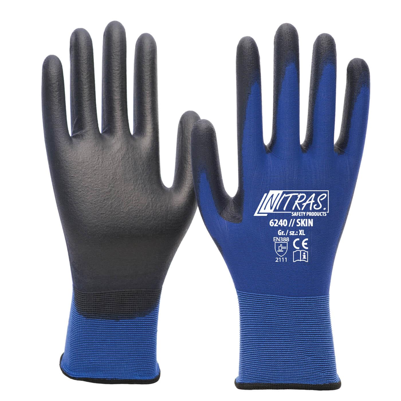 Rękawice montażowe Nitras 6240/ SKIN