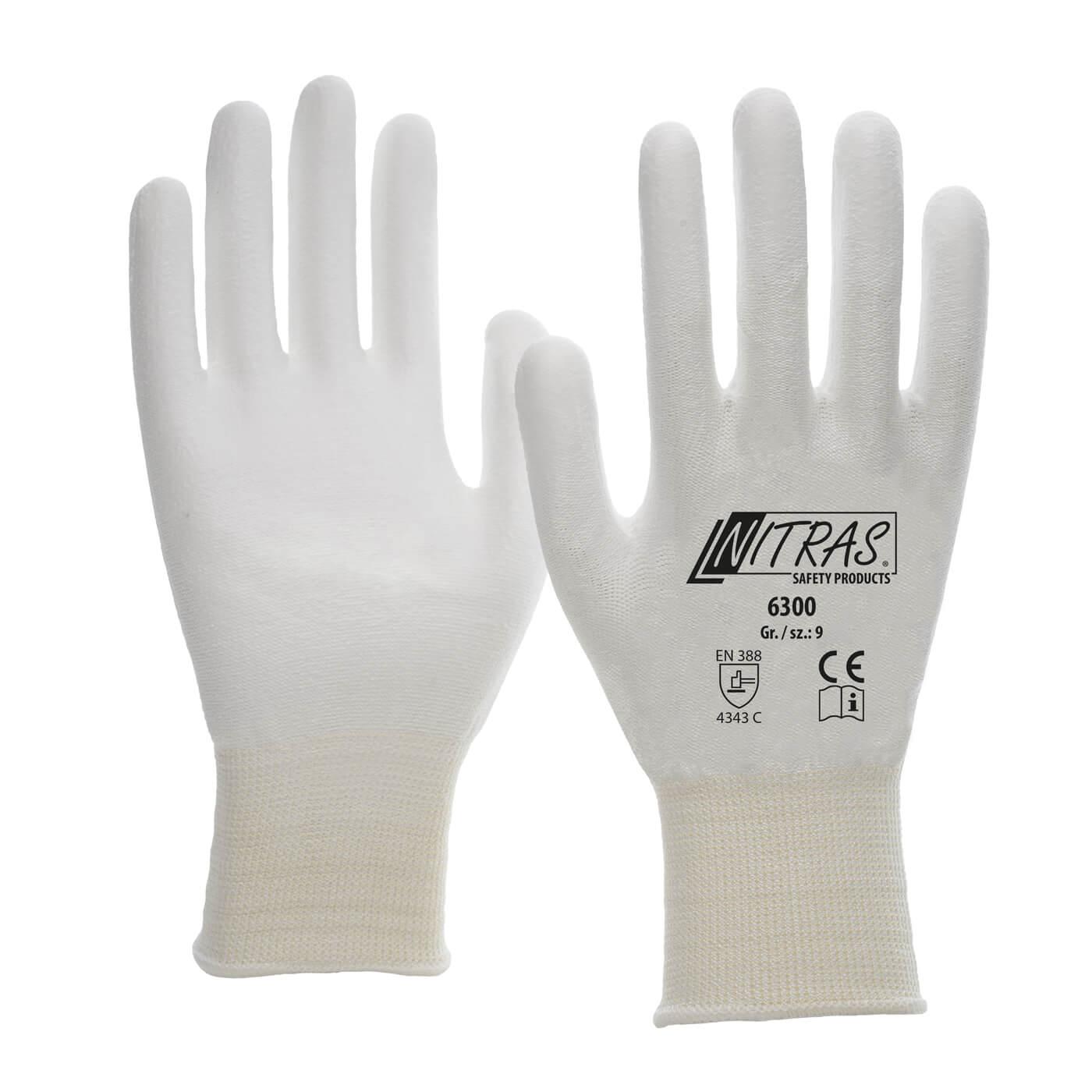 Rękawice antyprzecięciowe Nitras 6300