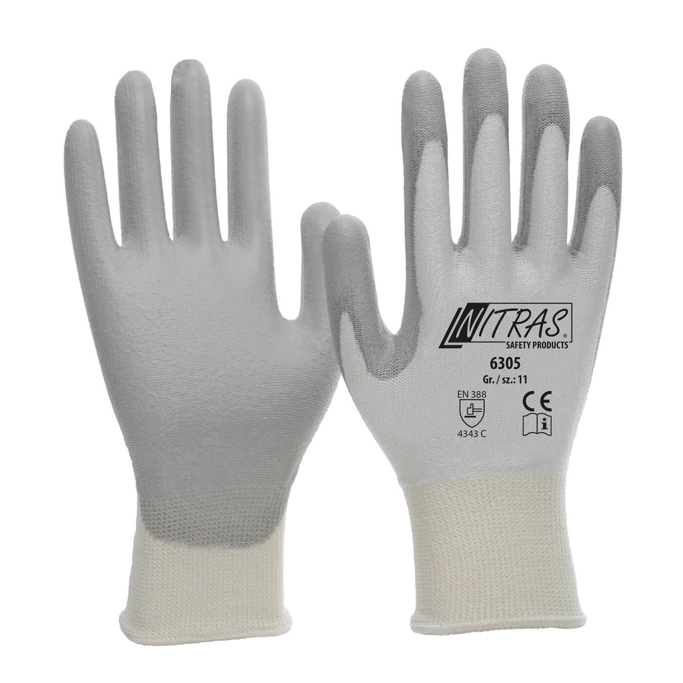 Rękawice antyprzecięciowe Nitras 6305