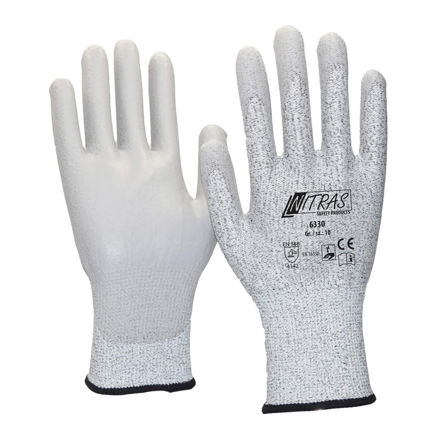 Rękawice antystatyczne Nitras 6330