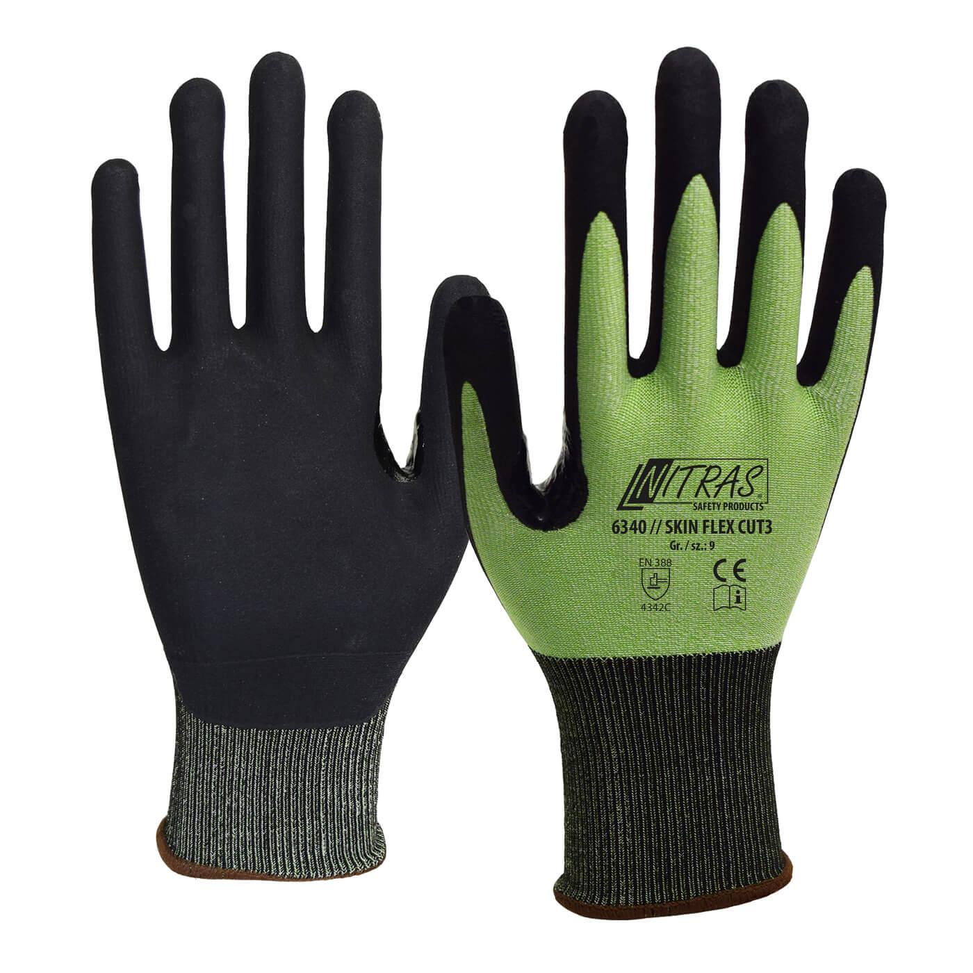 Rękawice antyprzecięciowe Nitras 6340/ SKIN FLEX CUT 3
