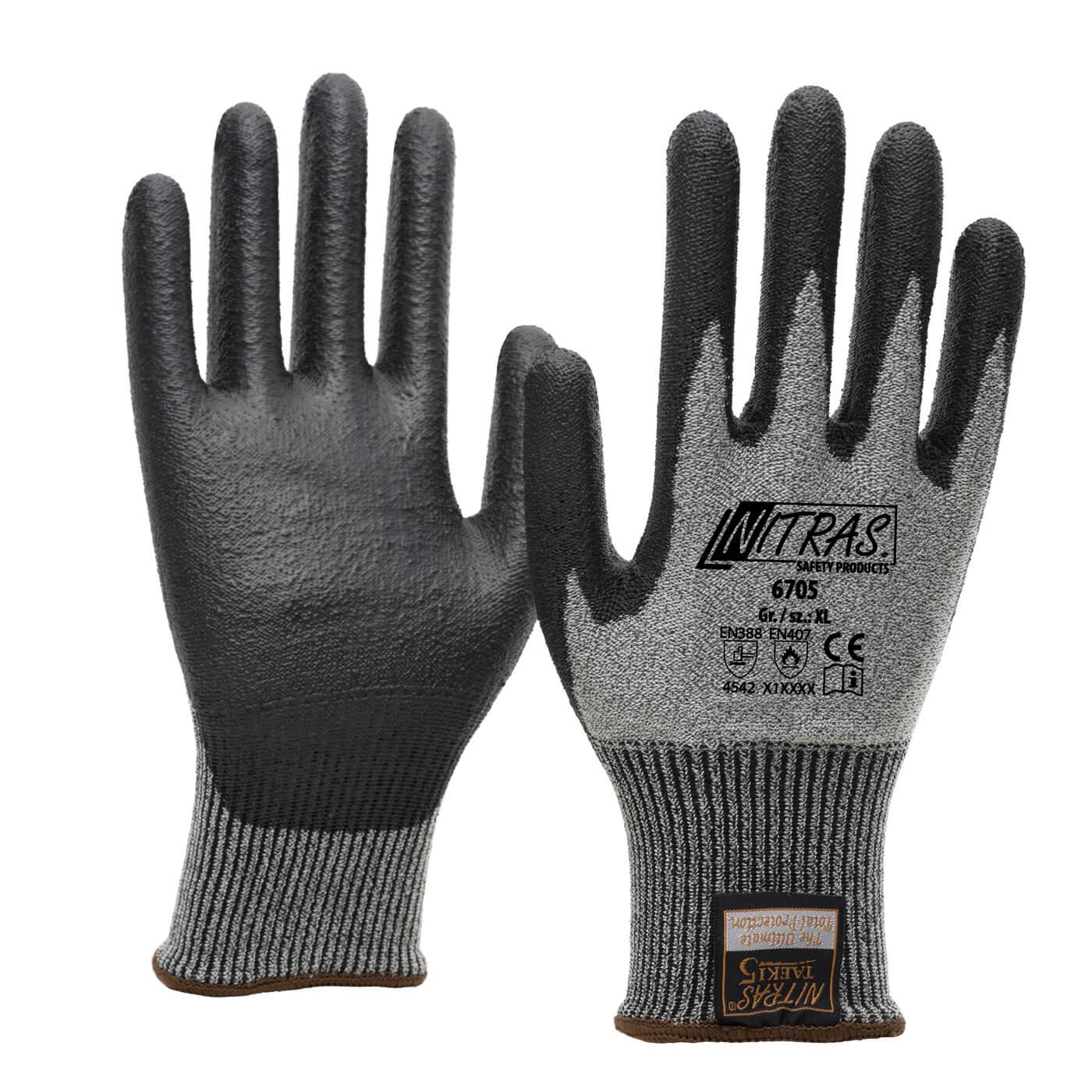 Rękawice antyprzecięciowe Nitras 6705