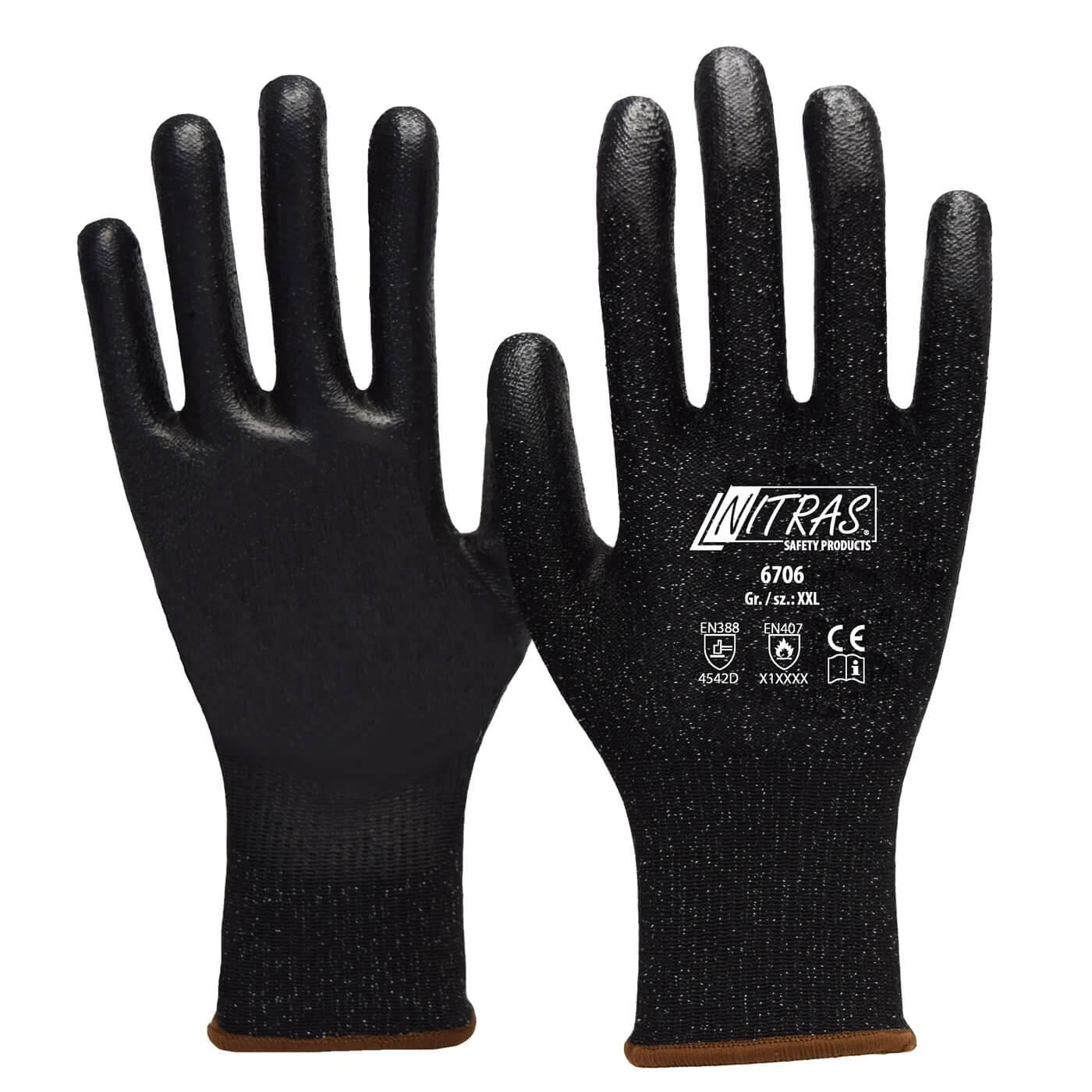 Rękawice antyprzecięciowe Nitras 6706