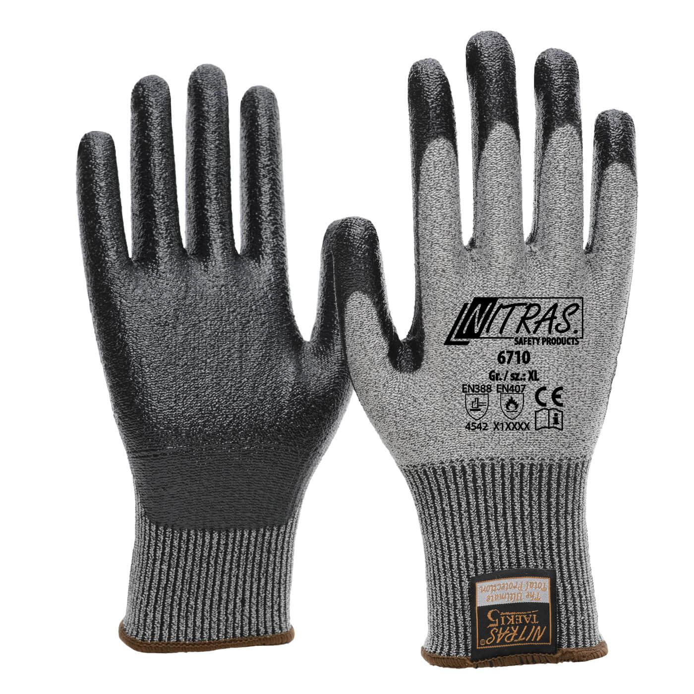 Rękawice antyprzecięciowe Nitras 6710
