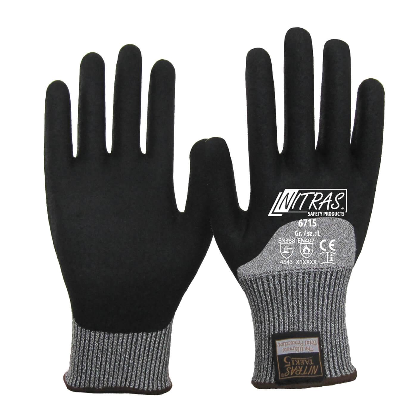 Rękawice antyprzecięciowe Nitras 6715