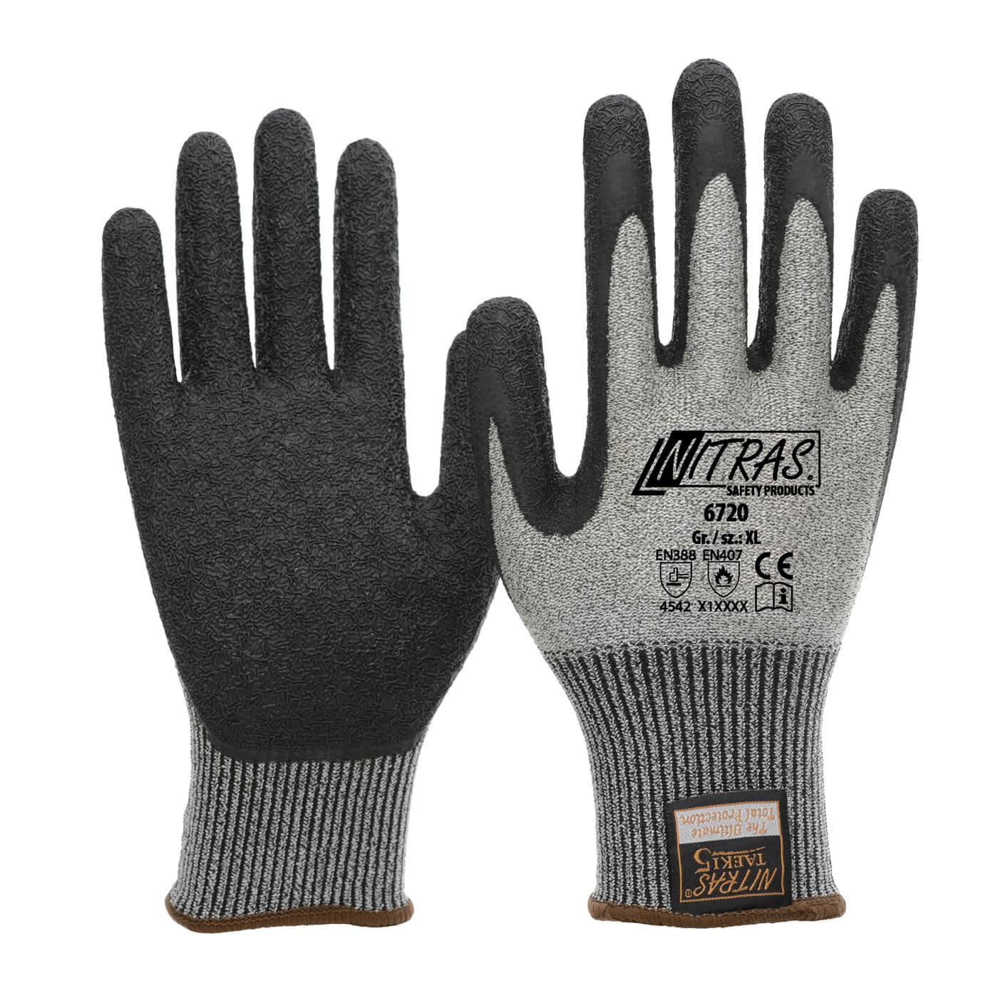 Rękawice antyprzecięciowe Nitras 6720