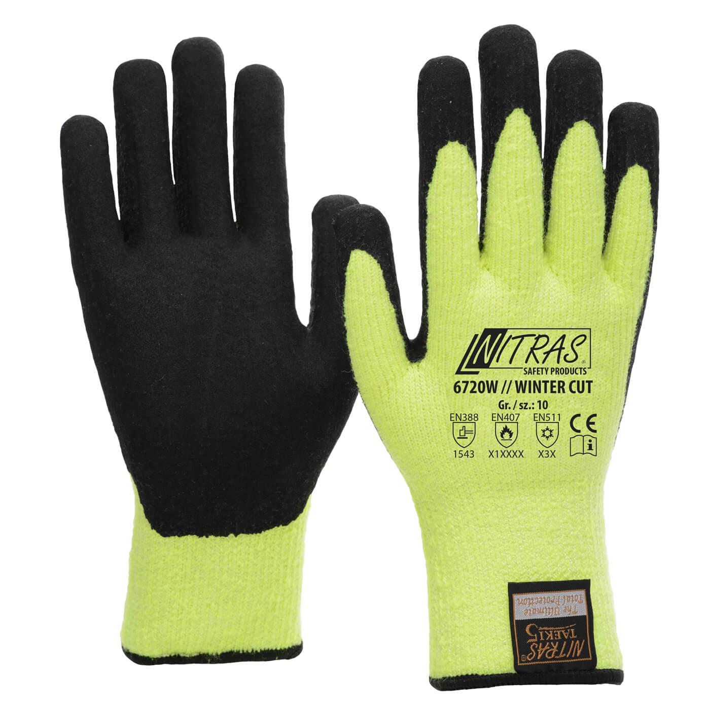 Rękawice zimowe Nitras 6720W/ WINTER CUT