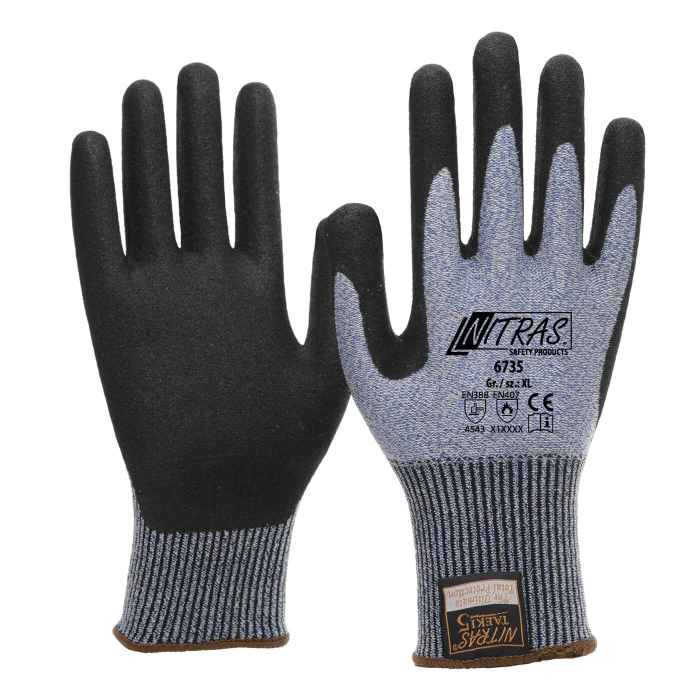 Rękawice antyprzecięciowe Nitras 6735