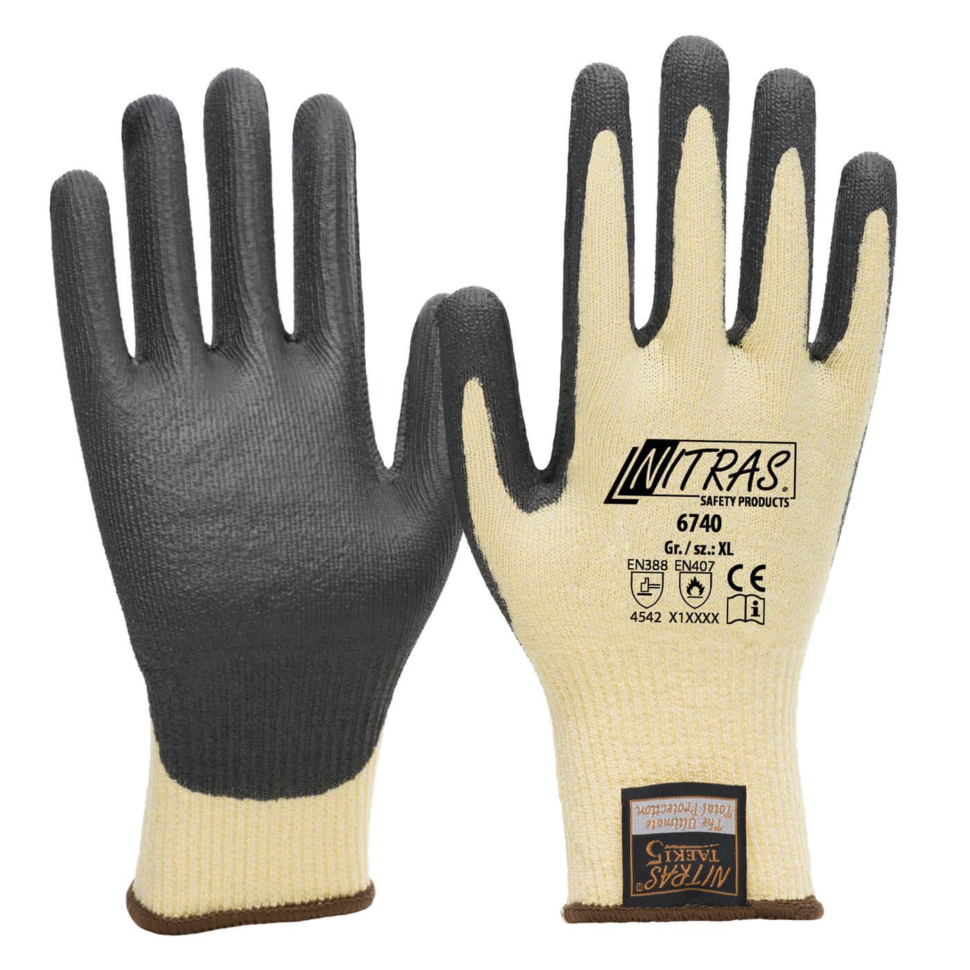 Rękawice antyprzecięciowe Nitras 6740