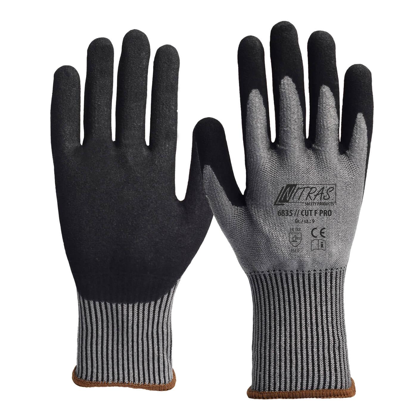 Rękawice antyprzecięciowe Nitras 6835/CUT F PRO