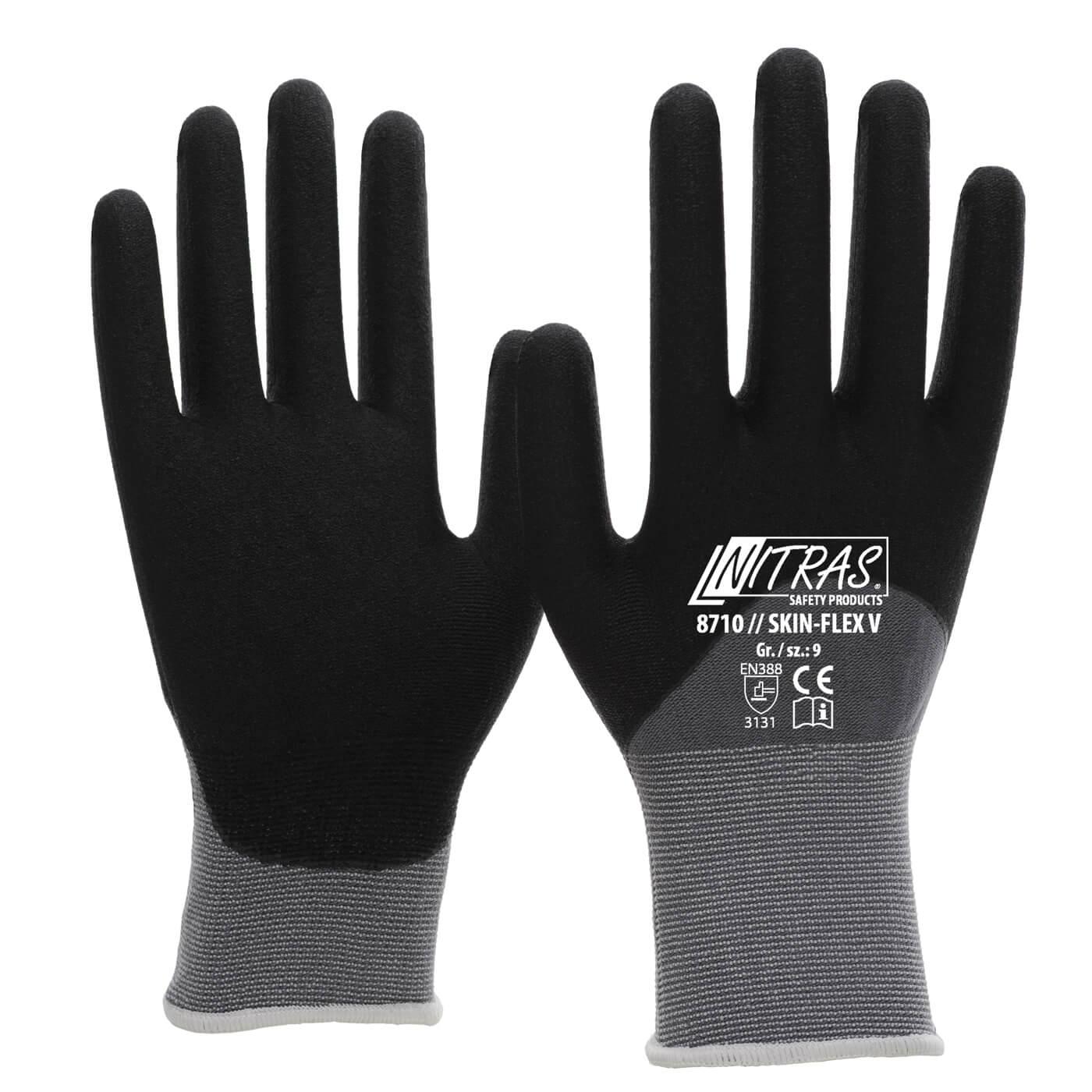 Rękawice montażowe Nitras 8710/ SKIN FLEX V