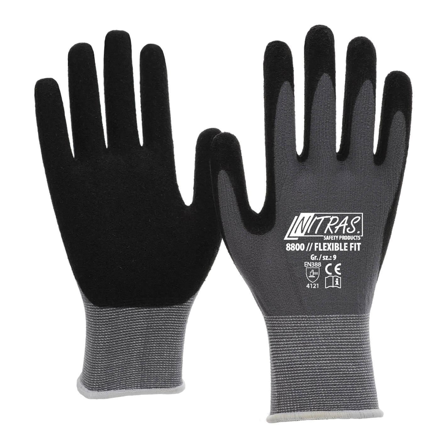 Rękawice montażowe Nitras 8800/ FLEXIBLE FIT