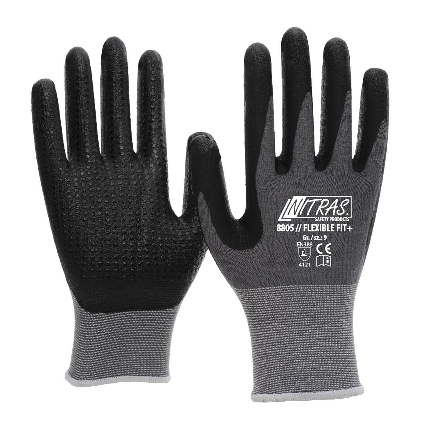 Rękawice montażowe Nitras 8805/ FLEXIBLE FIT+