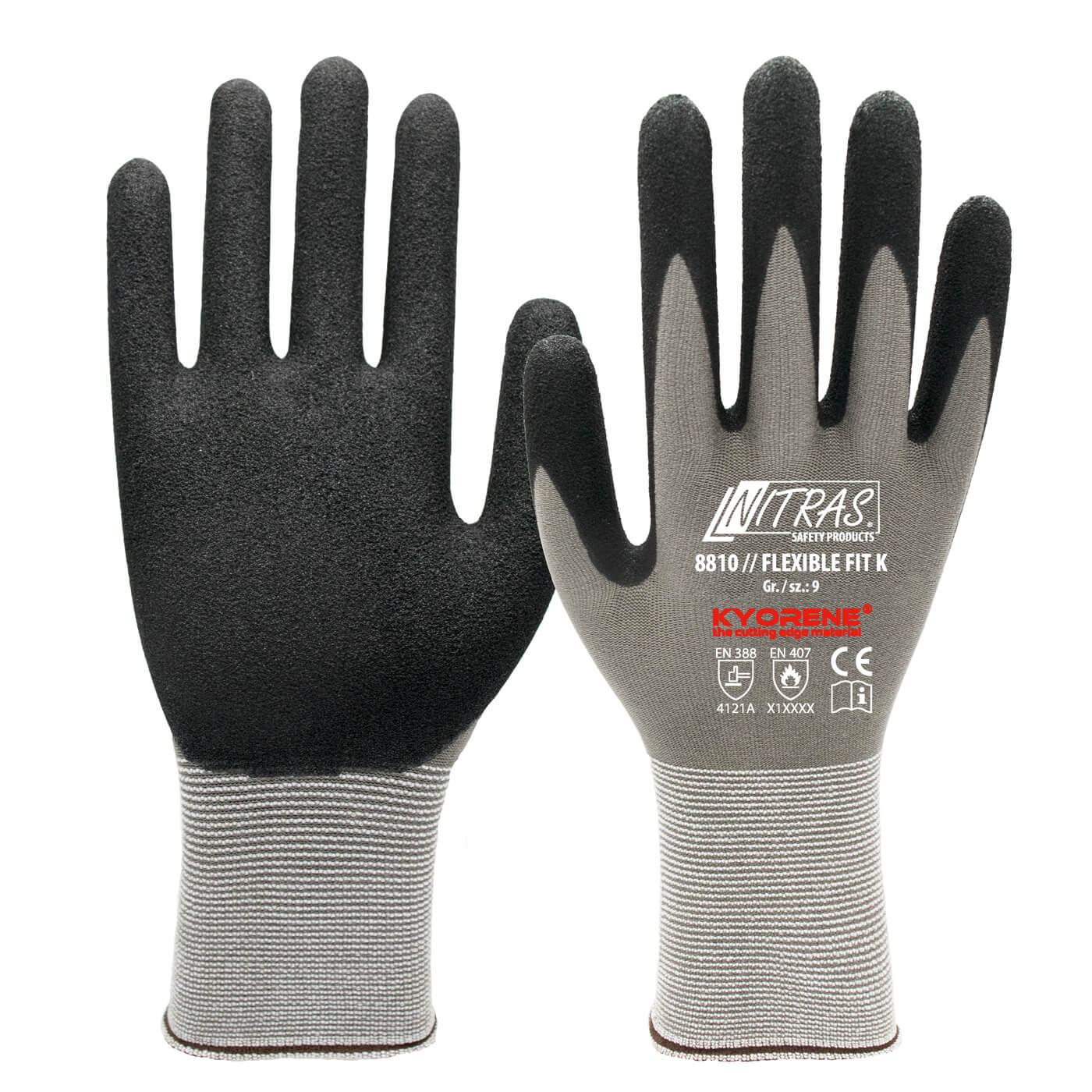 Rękawice montażowe Nitras 8810/ FLEXIBLE FIT K