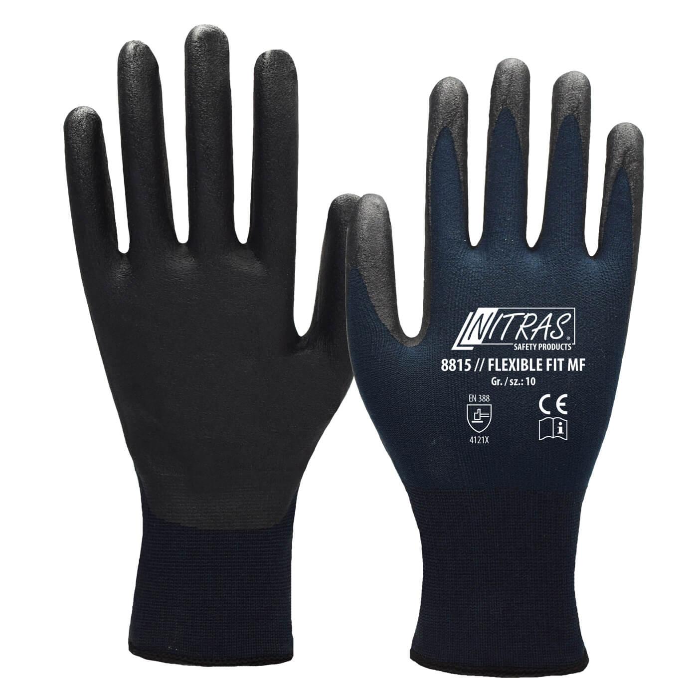 Rękawice montażowe Nitras 8815/ FLEXIBLE FIT MF