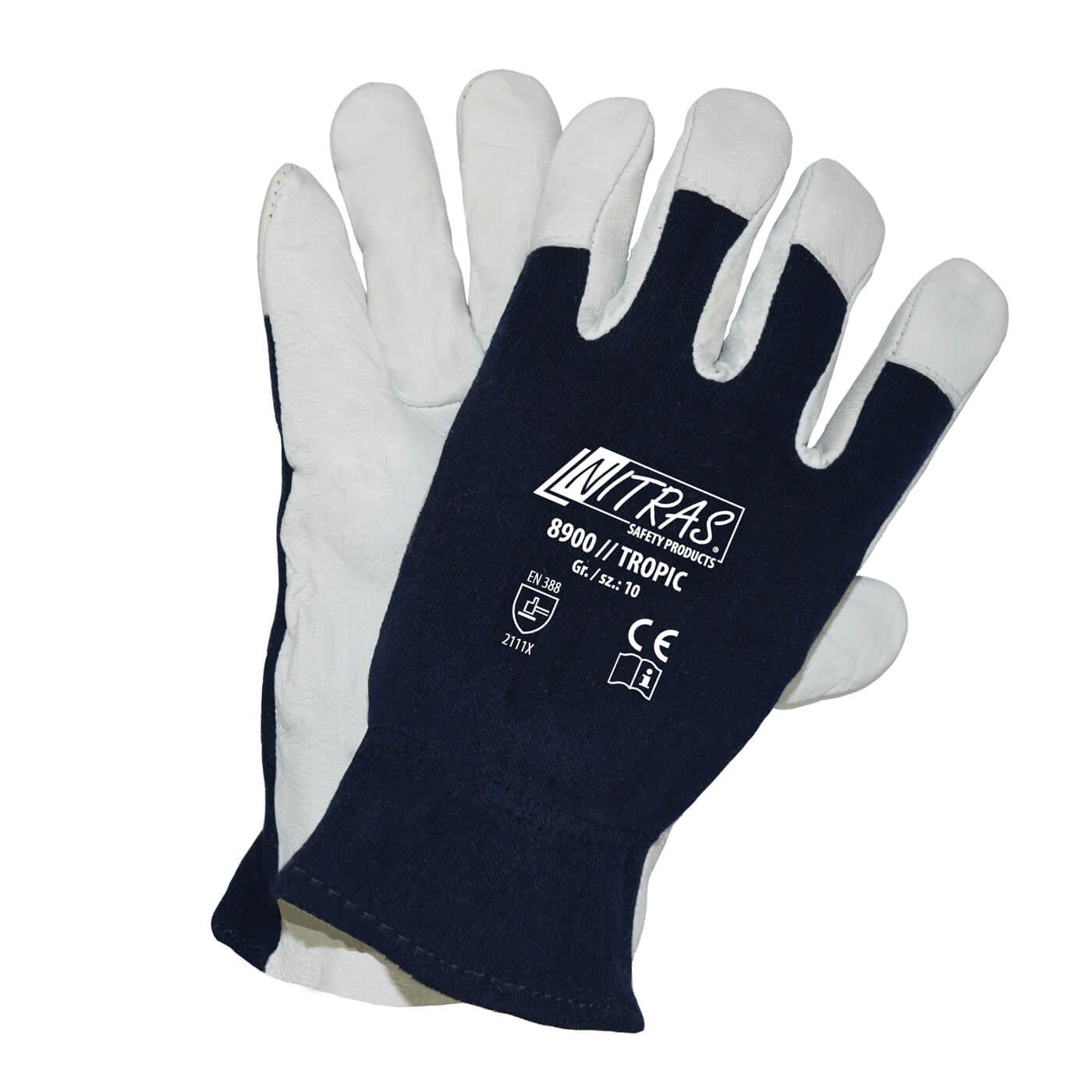 Rękawice mechaniczne Nitras 8900/ TROPIC