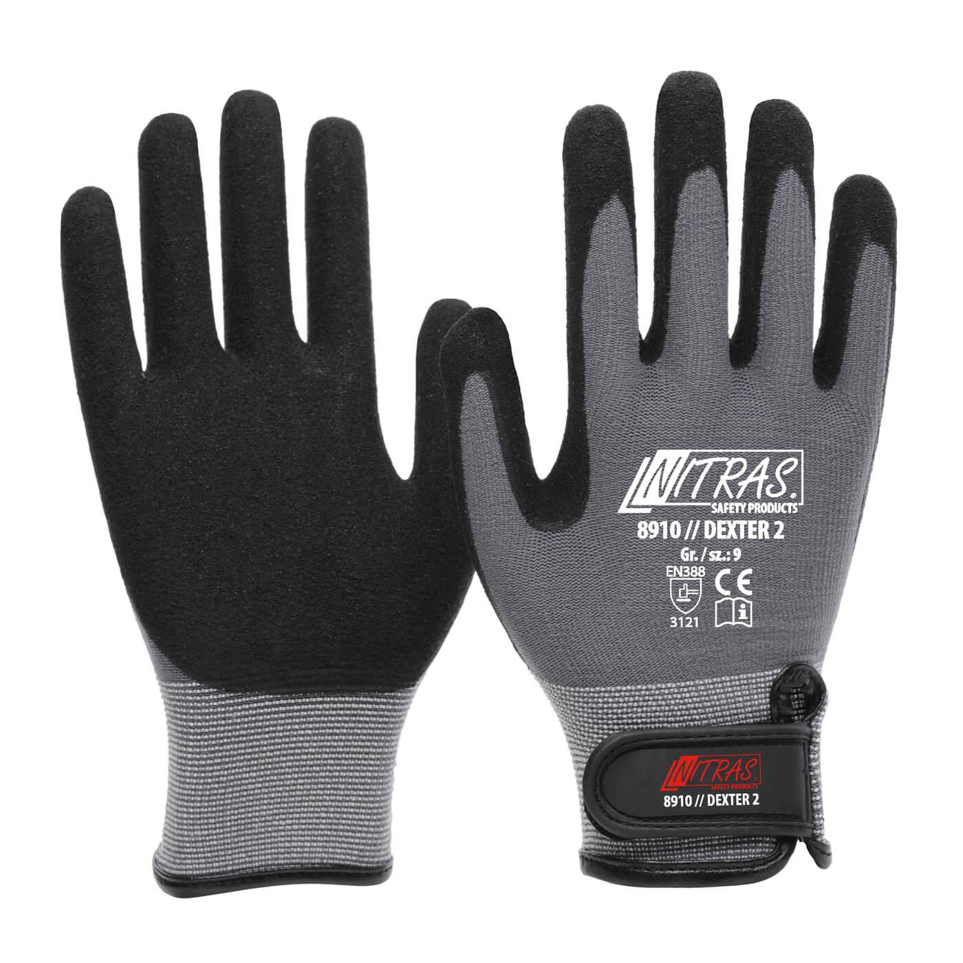 Rękawice mechaniczne Nitras 8910/ DEXTER 2