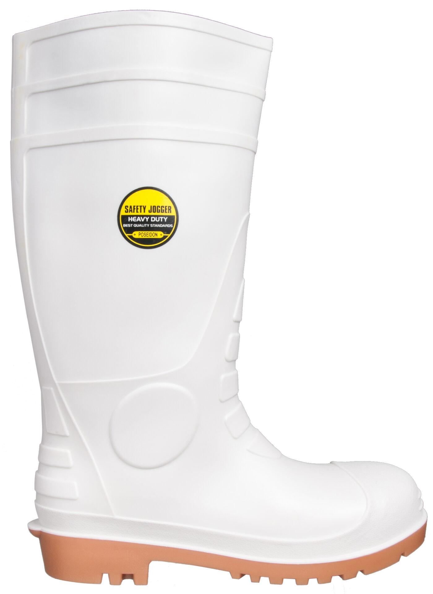 Gumowce ochronne POSEIDON białe Safety Jogger