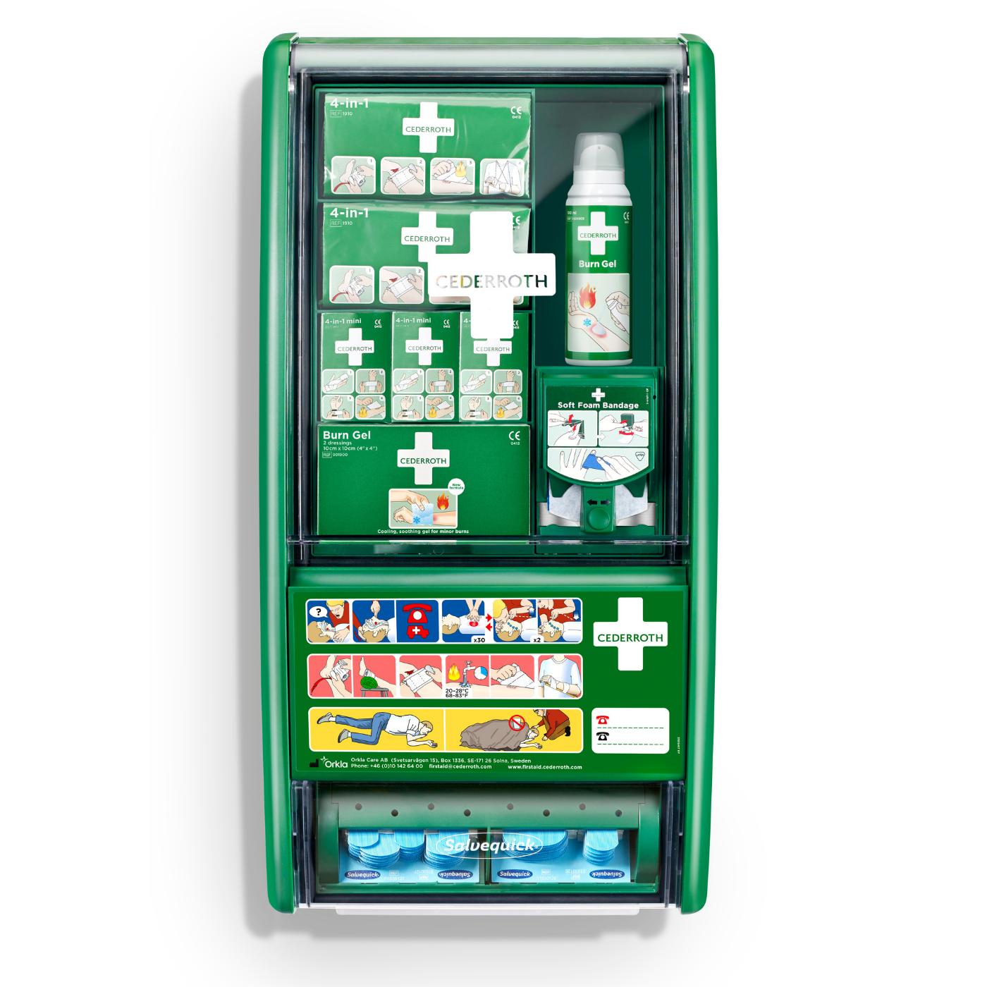 Apteczka Cedderroth First Aid&Burn Station 51011003