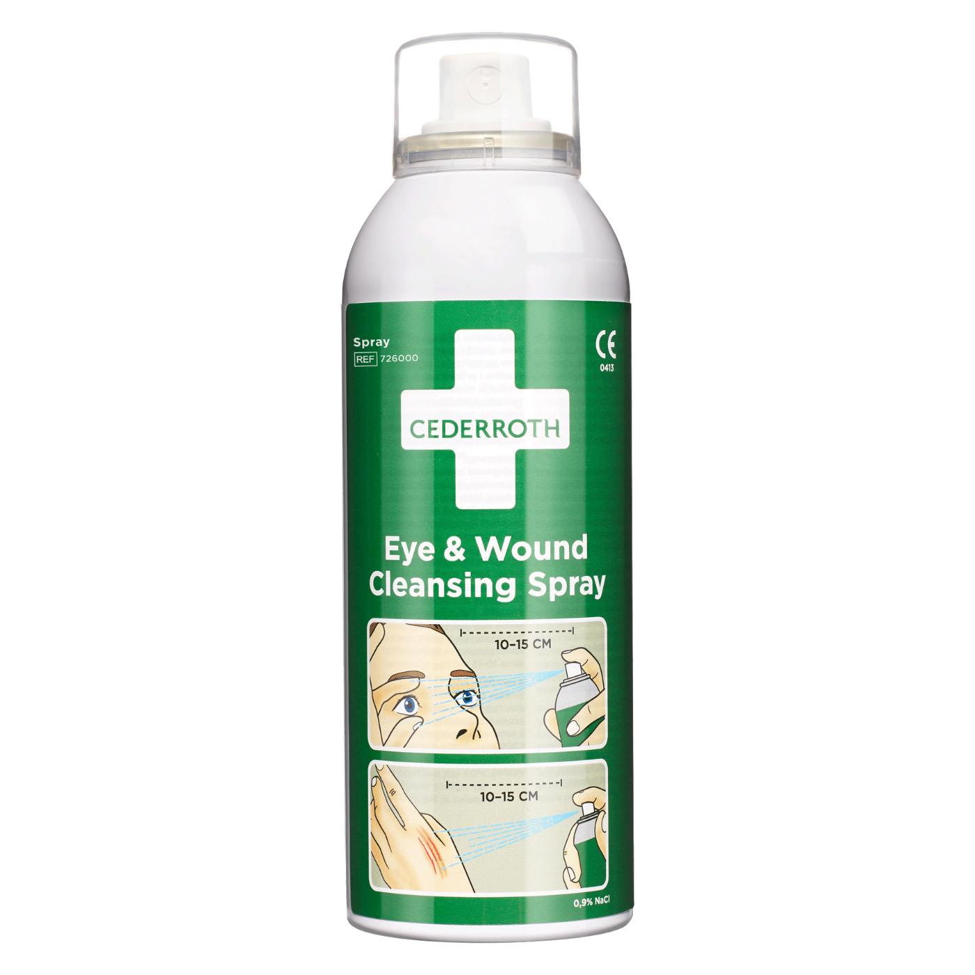 Spray oczyszczający do oczu i ran Cederroth Eye & Wound Cleansing Spray, 150ml