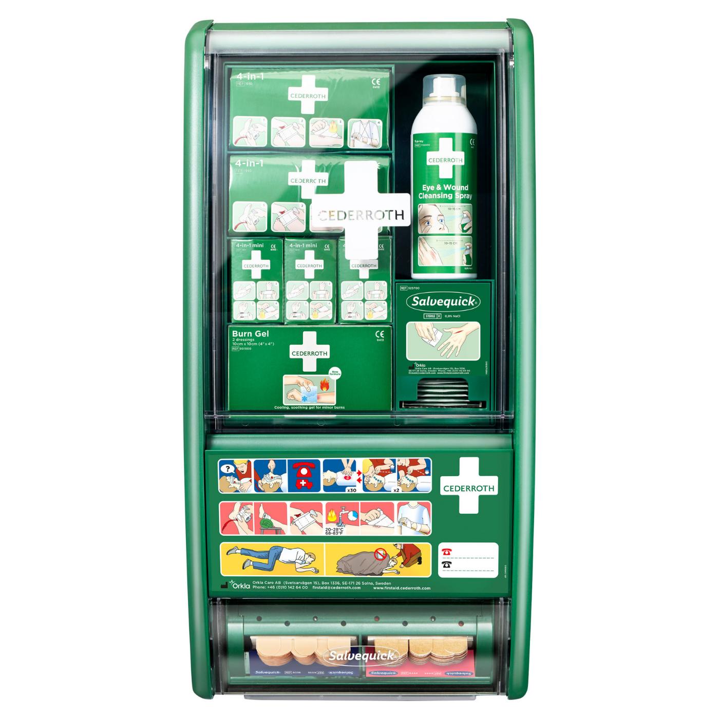 Apteczka Cedderroth First Aid Station 490920